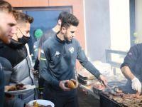 Bursaspor'da barbekü partisi