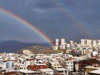 Bursa'da gökkuşağı sürprizi