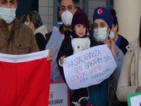 Bursa'da sağlıkçılar eylem yaptı