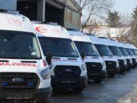 Bursa'ya yeni ambulans