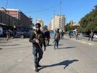 Bağdat'ta pazarda intihar saldırısı