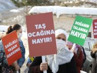 Bursa'da taş ocağı isyanı!