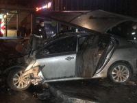 Bursa'da kaza:1 ölü 4 yaralı