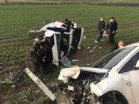 Bursa'da kaza:4 yaralı