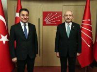 Ali Babacan'dan CHP'ye ziyaret