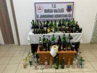 Bursa'da kaçak içki baskını