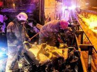 Bursa'da kaza: 2 ölü 10 yaralı