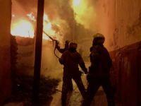 Bursa'da iki otobüs yandı
