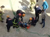 Bursa'da iş kazası!