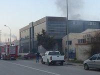 Bursa'daki fabrikada yangın!