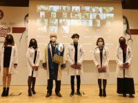 Tıp Fakültesi'nde beyaz önlük giyme töreni