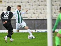 Bursaspor 11 maçta 13 puan topladı