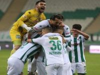 Bursaspor, Bandırmaspor'u ağırladı