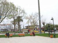 Parklar güneş enerjisiyle aydınlatılıyor