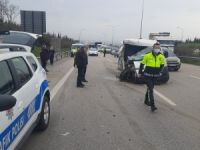 Otobanda kaza: 1 yaralı