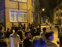 Bursa'da taraftarlar birbirine girdi