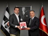 İmamoğlu'ndan Beşiktaş'a ziyaret