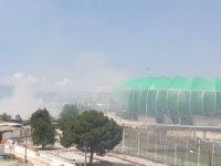 Bursaspor'dan yangın açıklaması