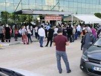 Bursa'da aşı kuyruğu