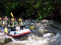 Bursa'da rafting heyecanı
