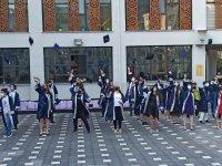 Salih Şeremet Ortaokulu ilk mezunlarını verdi