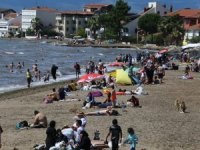 Bursa'da sahiller doldu