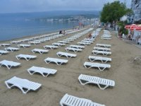 Gemlik plajlarına 'özel hizmet'