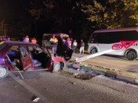 Kestel'de kaza: 3 yaralı