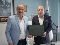 Bursaspor'dan Türkyılmaz'a ziyaret