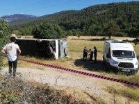 Muğla'da korkunç kaza:1 ölü 49 yaralı