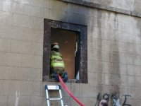 Tarihi mekan yine yandı