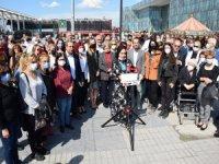 Bursa'da 'Barınamıyoruz' eylemi!