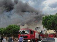 Son dakika! Bursa'da fabrika yangını