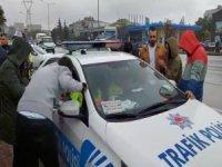 Bursa'da çalıntı araçla kaza