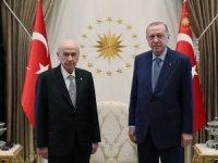 Erdoğan-Bahçeli görüşmesi
