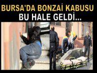Bursa'da şiddetli lodos çatıları uçurdu