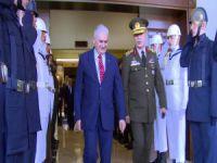 Başbakan Yıldırım, Genelkurmay'ı ziyaret etti