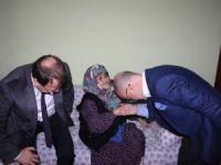 Ali Yılmaz'dan Yaşlılara  Zİyaret