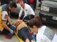 Bursa'da dikkatsiz sürücü...