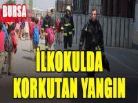 Bursa'da ilkokulda yangın!