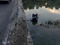 Bursa'da kamyon göle uçtu!