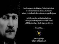 Erdoğan'dan '10 Kasım' mesajı!
