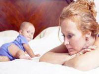 Doğum sonrası depresyona dikkat!