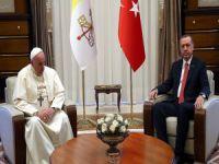 Erdoğan, Vatikan'da Kudüs'ü görüşecek!