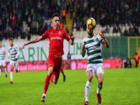 Bursaspor galibiyetinin sevinci yaşanıyor!