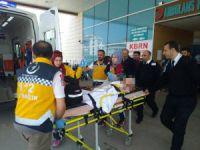 Bursa'da şarjlı bisiklet kazası