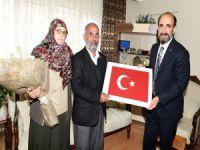 Şehit annelerine başkan Edebali'den anneler günü ziyareti!