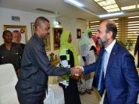 Başkan Edebali Sudan Heyeti'ni ağırladı!