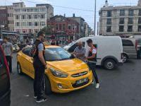Taksiler denetlendi