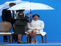Devlet Başkanı'nın yemin töreninde şemsiye krizi